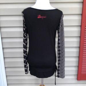 Desigual Tops - Desigual  women's long sleeve tunic top